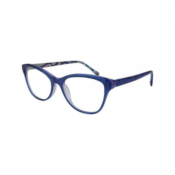 Katia Blue Glasses - Side View