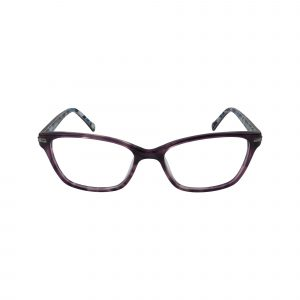 Sela Purple Glasses - Front View