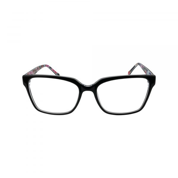 Tinley Black Glasses - Front View