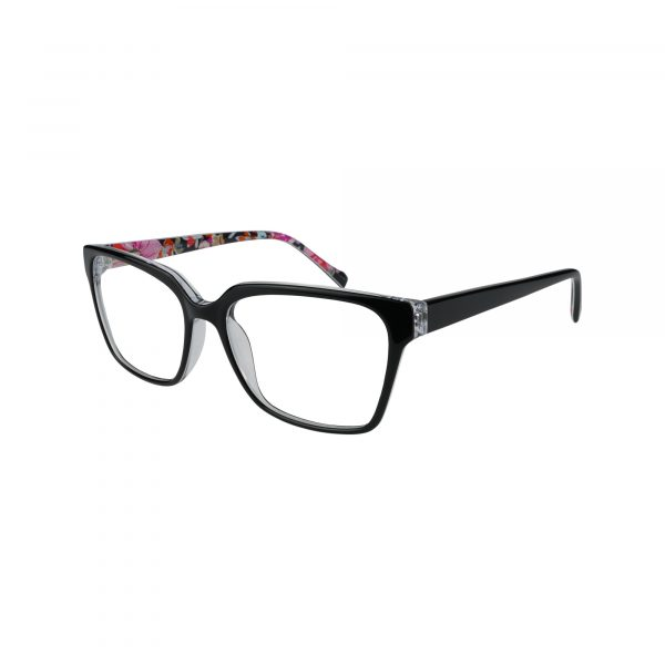 Tinley Black Glasses - Side View