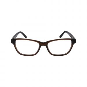 Clare Brown Glasses - Front View