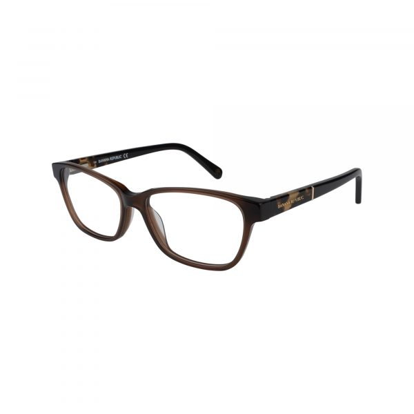 Clare Brown Glasses - Side View