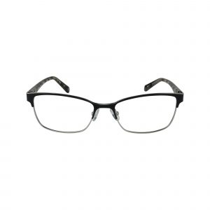 Mabel Black Glasses - Front View