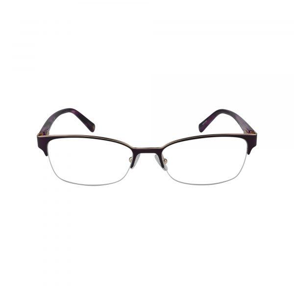 Elsa Purple Glasses - Front View