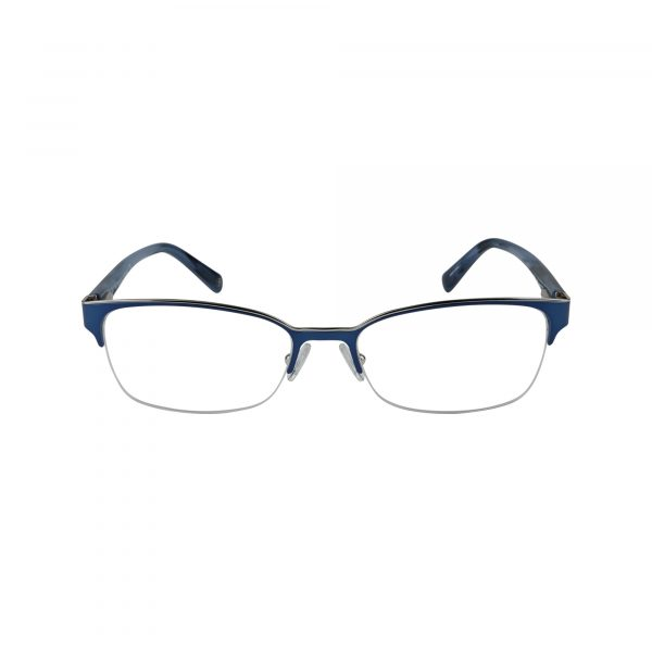 Elsa Blue Glasses - Front View