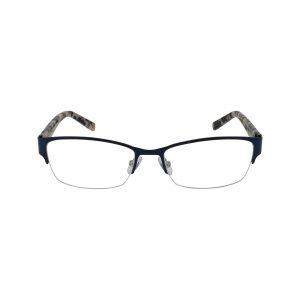 Jordyn Blue Glasses - Front View