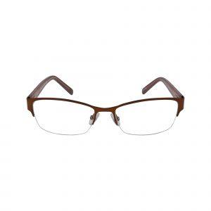 Jordyn Brown Glasses - Front View
