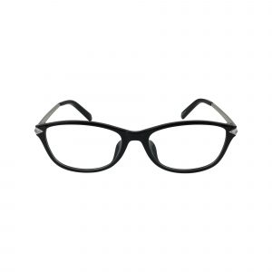 5293D Black Glasses - Front View