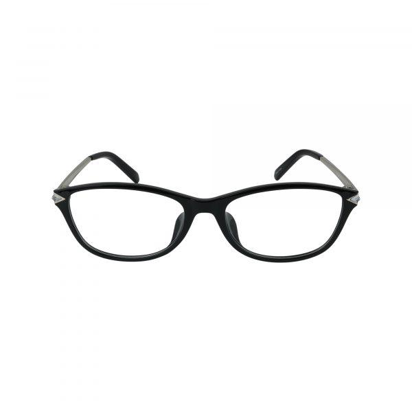5293D Black Glasses - Front View