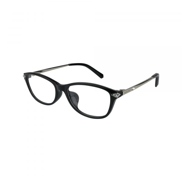 5293D Black Glasses - Side View