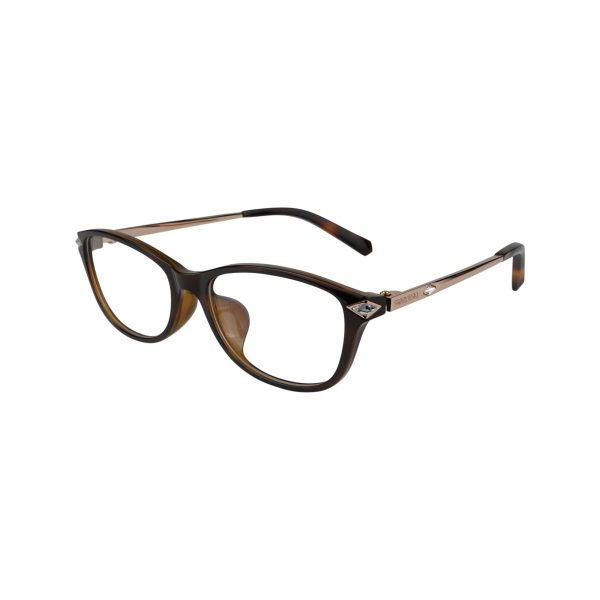5293D Brown Glasses - Side View