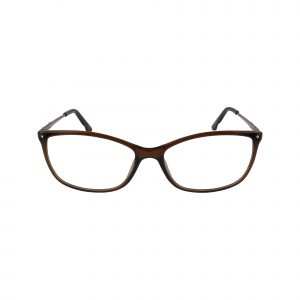 5179 Brown Glasses - Front View
