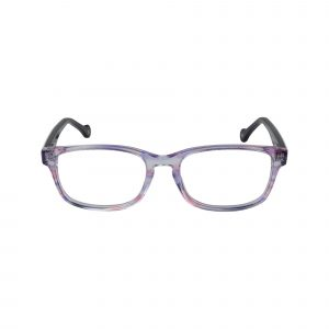 Bright Purple Glasses - Front View