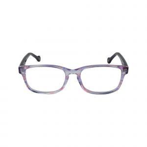 Bright Purple Glasses - Front View