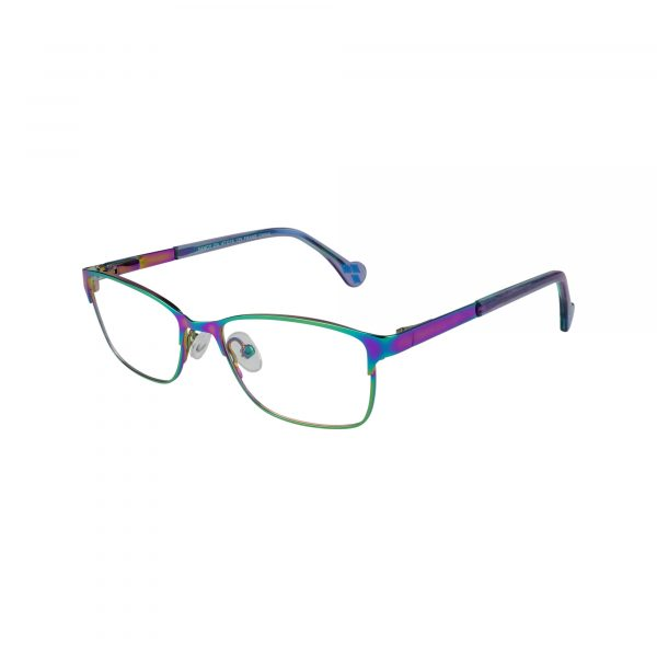 Fancy Multicolor Glasses - Side View