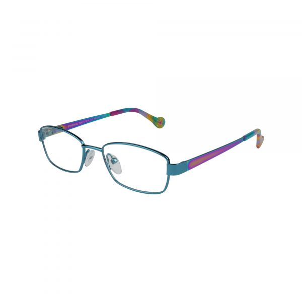 Ethereal Green Glasses - Side View