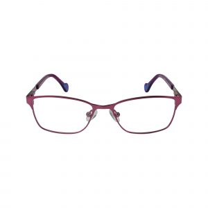 Fancy Pink Glasses - Front View