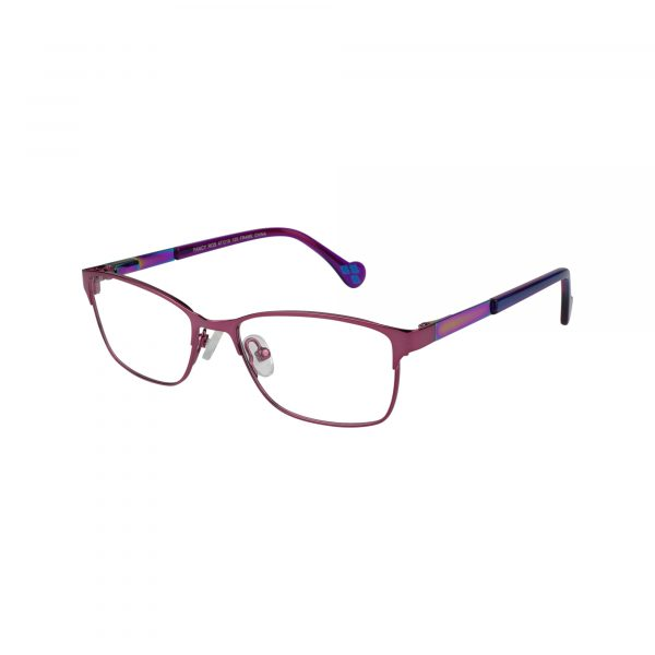 Fancy Pink Glasses - Side View
