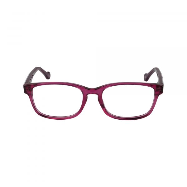 Bright Pink Glasses - Front View
