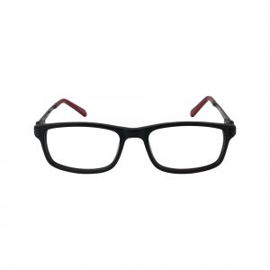 Hitch Black Glasses - Front View