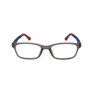 PP02 Gunmetal Glasses - Front View