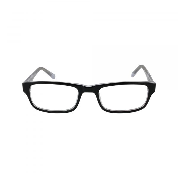 Guardian Black Glasses - Front View