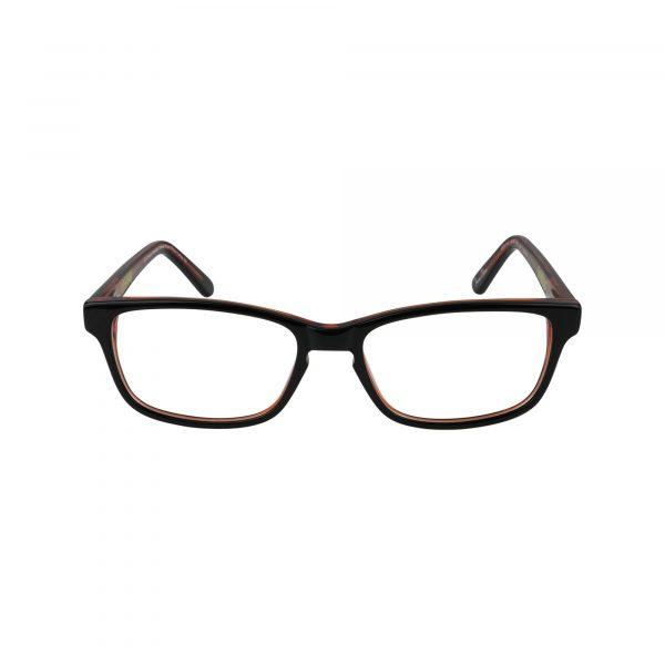 TMNT Geek Black Glasses - Front View