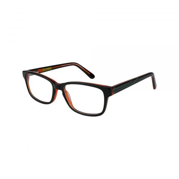 TMNT Geek Black Glasses - Side View