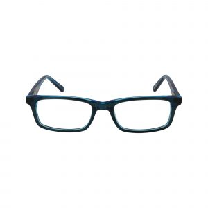 TMNT Prankster Blue Glasses - Front View