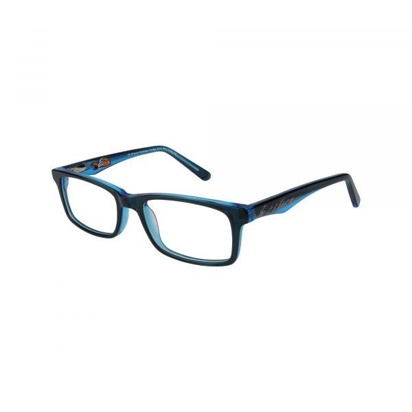 TMNT Prankster Blue Glasses - Side View