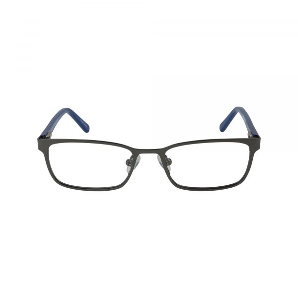 Recharge Gunmetal Glasses - Front View