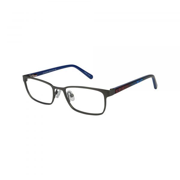 Recharge Gunmetal Glasses - Side View