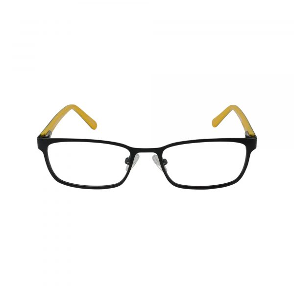 Recharge Black Glasses - Front View
