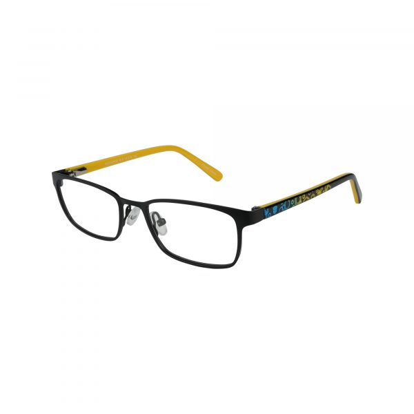 Recharge Black Glasses - Side View