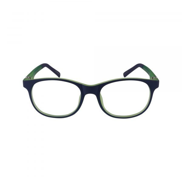 PP14 Blue Glasses - Front View