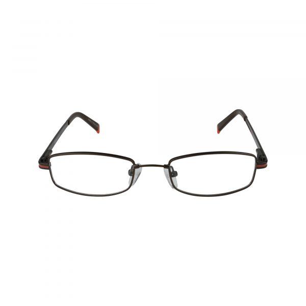 Flex 100 Brown Glasses - Front View