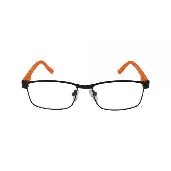 Kids 270 Black Glasses - Front View