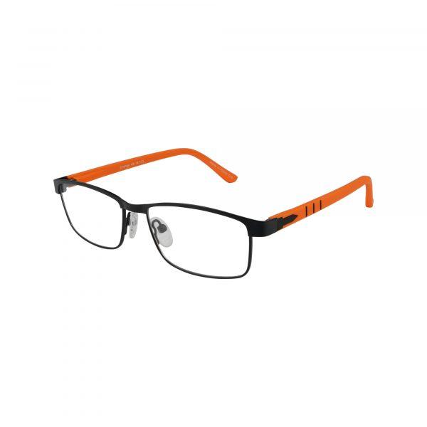 Kids 270 Black Glasses - Side View