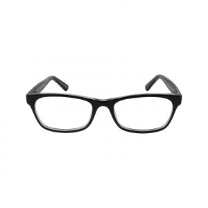 72 Black Glasses - Front View