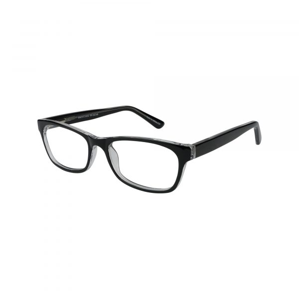 72 Black Glasses - Side View
