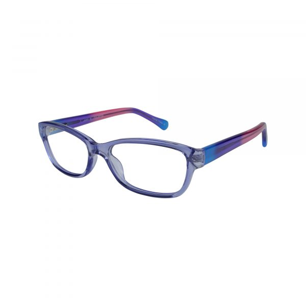Jazzy Purple Glasses - Side View