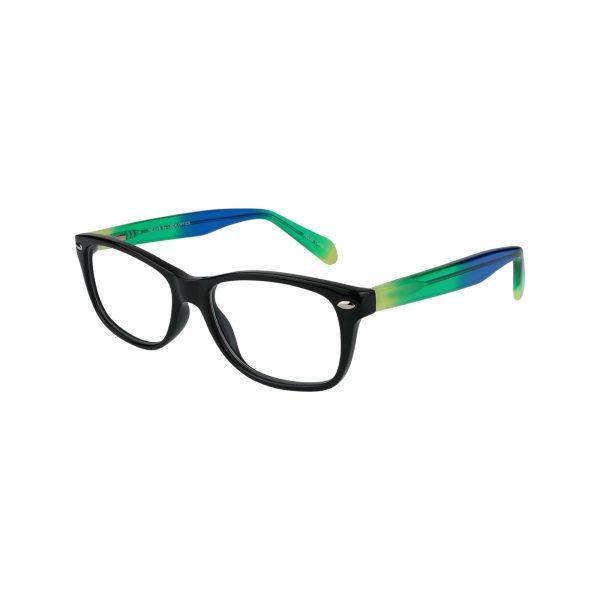 Tye Black Glasses - Side View