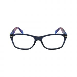 Tye Blue Glasses - Front View