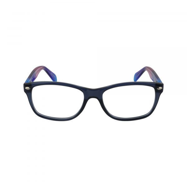 Tye Blue Glasses - Front View