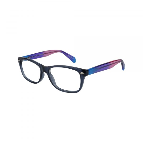 Tye Blue Glasses - Side View