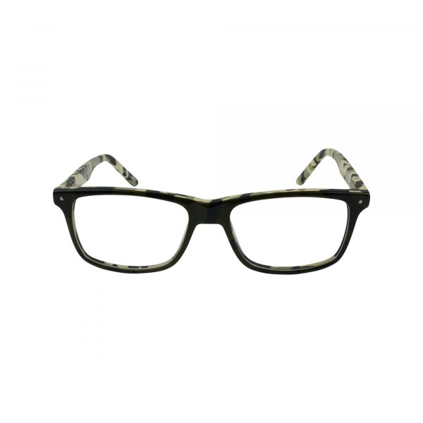 Rowdy Green Glasses - Front View