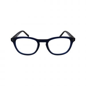 K305 Blue Glasses - Front View