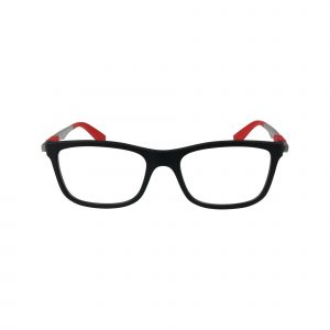 1549 Black Glasses - Front View