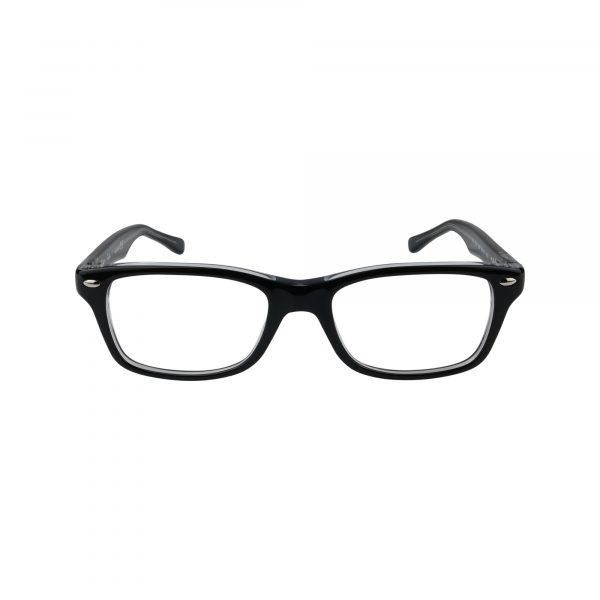 1531 Black Glasses - Front View