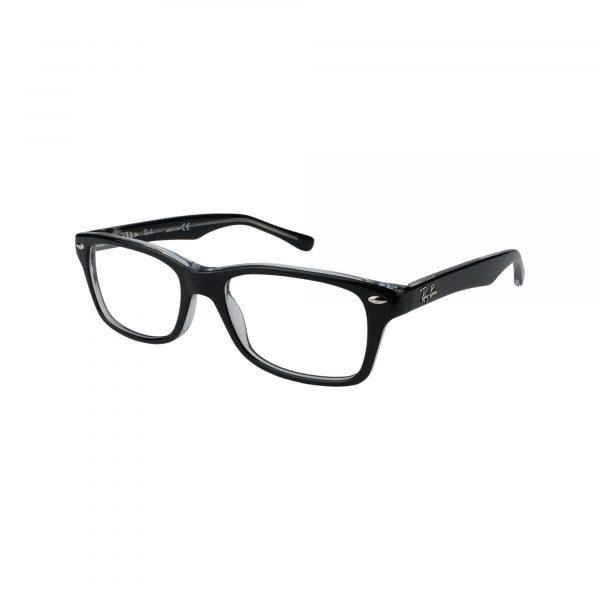 1531 Black Glasses - Side View